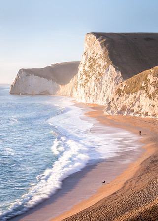 Durdle Door in Warm Golden Light