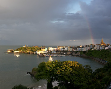 Tenby after the storm
