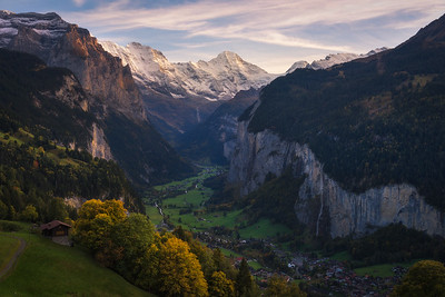 Lauterbrunnen Autumn
