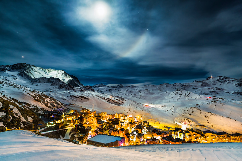 Val Thorens<br /> Ski resort in Saint-Martin-de-Belleville, France