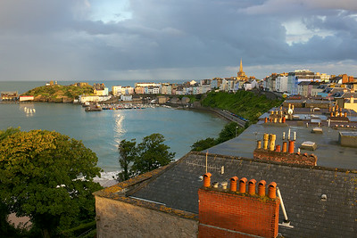 Tenby rooftops