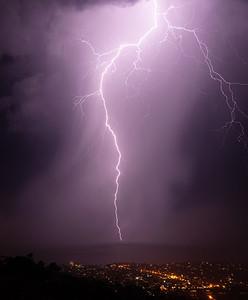 Lightning Storm - San Clemente