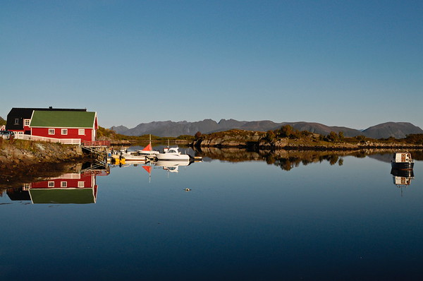 Boathouse on Lofoten