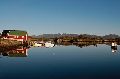 Boathouse on Lofoten