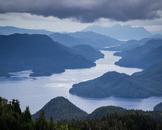 Baranof Island view, near Sitka, Alaska