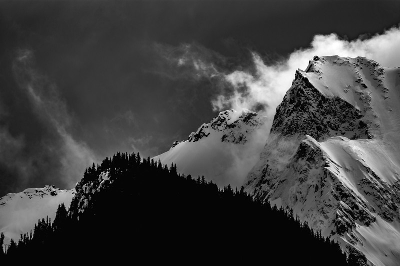 Blustery Mount Currie