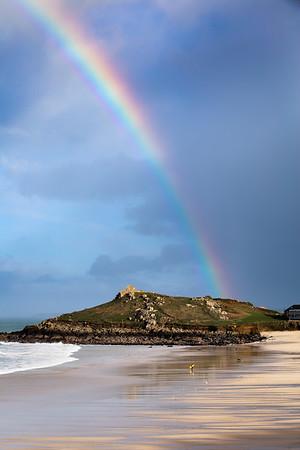 Porthmeor Rainbow