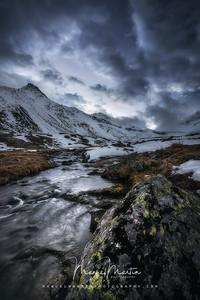 Swiss Alps Twilight
