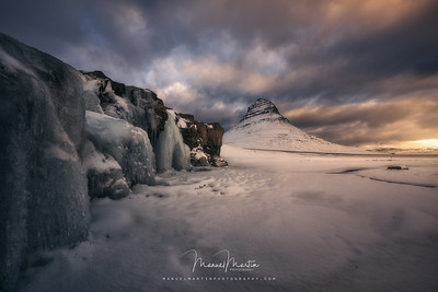 Classic view of the Kirkjufell