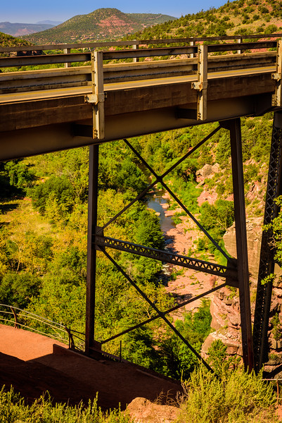 Midgley Bridge Over Oak Creek