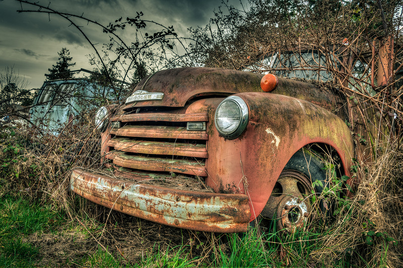 A Chevy in the Bush