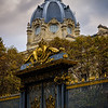 Gates of the Palais de Justice, Paris