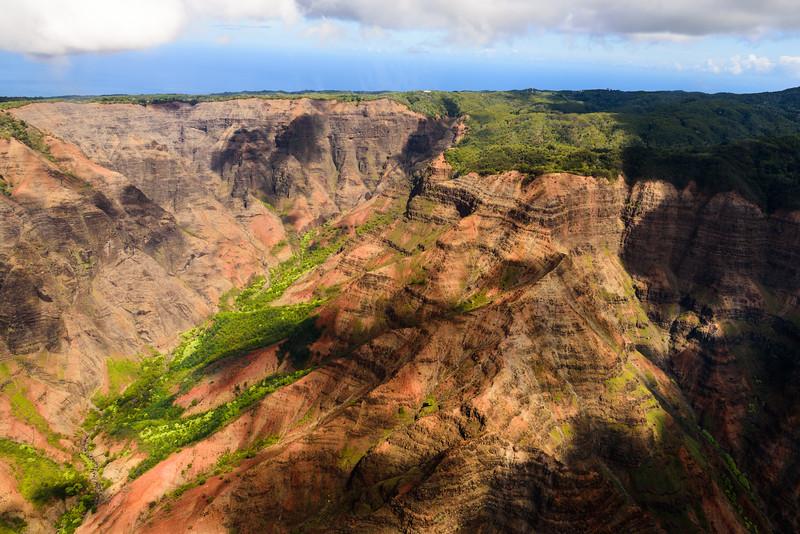 Waimea Canyon from Above