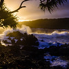 Sunrise Waves at Ke'anae