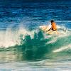 Surfer at Po'ipu