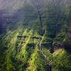 Mountain Waterfall on Kaua'io