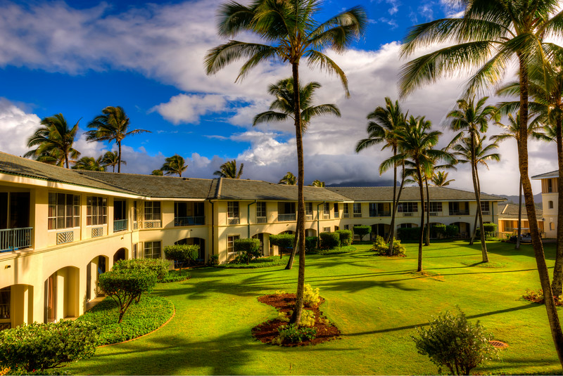 The Point at Po'ipu, Garden View