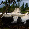 Waves Crashing at Ke'anae
