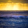 Sunrise Light Over Open Ocean