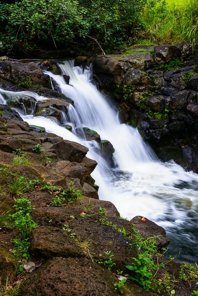 Ho'opi'i Waterfall