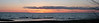 Point Gratiot Sunset Panoramic.<br /> <br /> Click on the image to see a larger view and/or to purchase.
