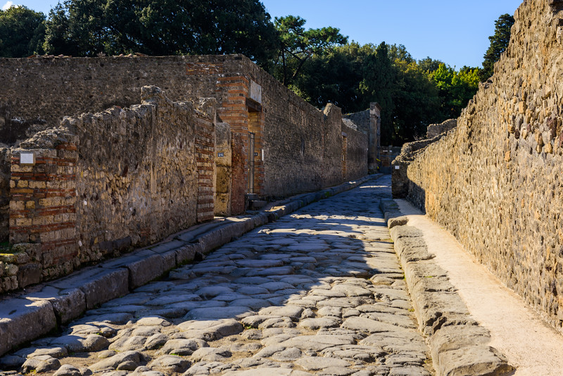 Side Street in Pompeii