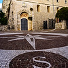 Monte Cassino - Compass and Pax Entrance