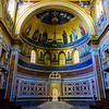 Basilica of St John Lateran - Apse and Cathedra