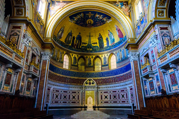 The apse in St. John Lateran.