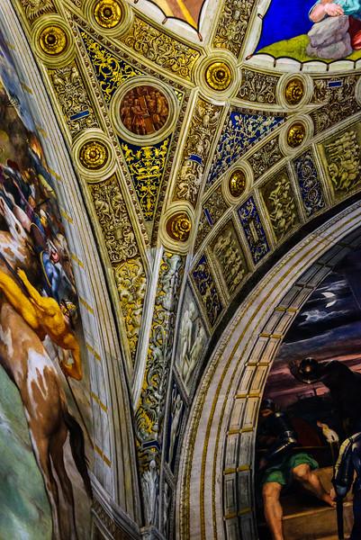 Vatican Museums, Raphael Rooms - Vault Detail