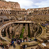 Innards of the Colosseum