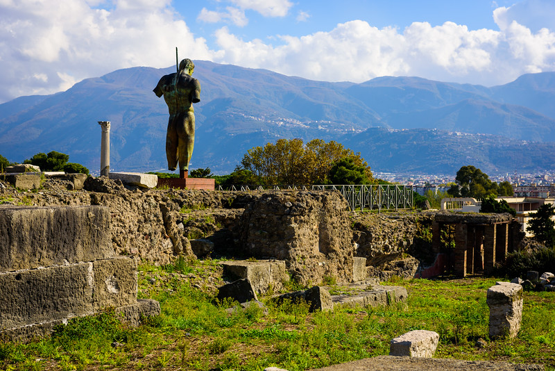 Watching Over Pompeii
