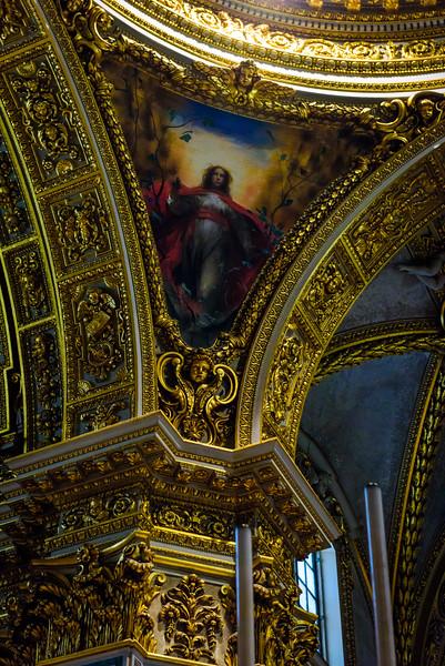 Cathedral of Monte Cassino - Vault Fresco