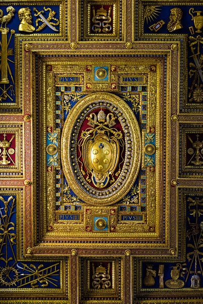 Basilica of St John Lateran - Ceiling Detail