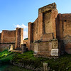 Behind the Amphitheater at Pompeii