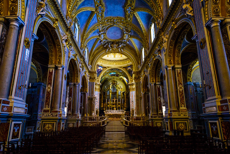 Cathedral of Monte Cassino - Interior