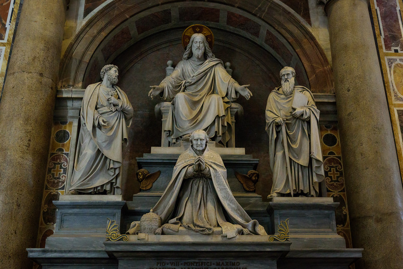 St. Peter's Basilica - Monument to Pius VIII
