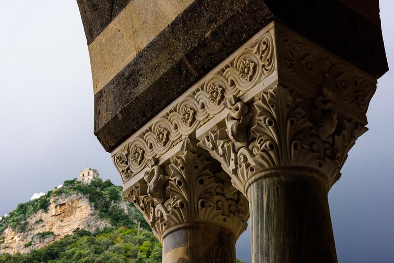 Amalfi Cathedral - Column Detail