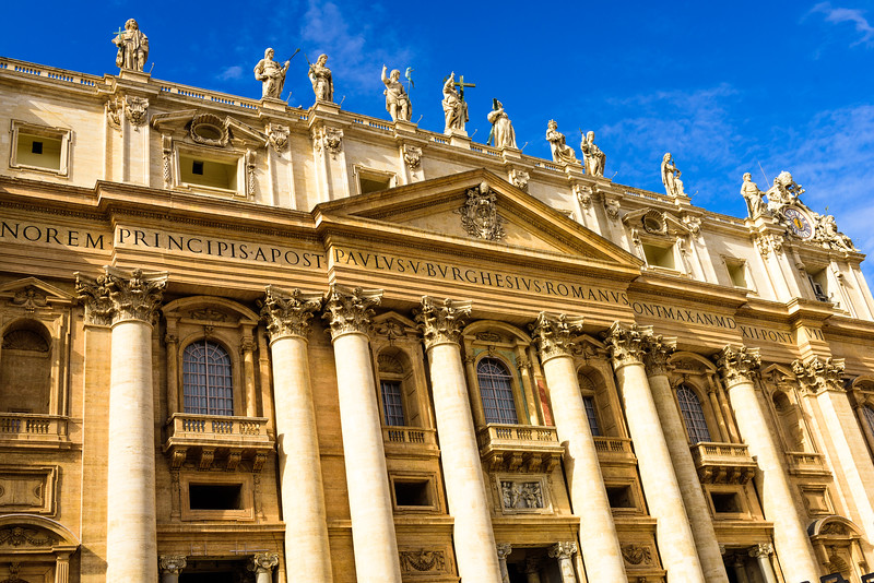 St. Peter's Basilica - Facade