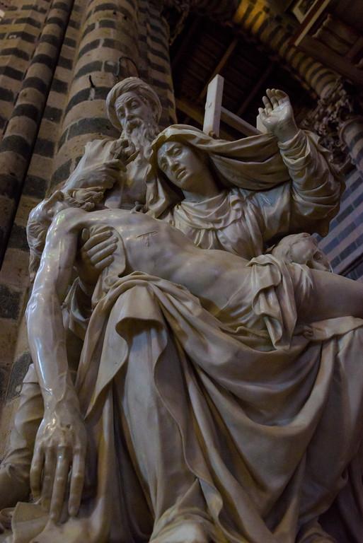 Pietà in the Duomo di Orvieto