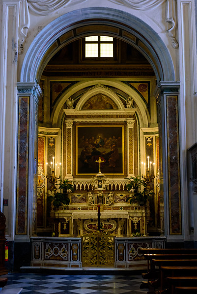Amalfi Cathedral - Eucharist Chapel