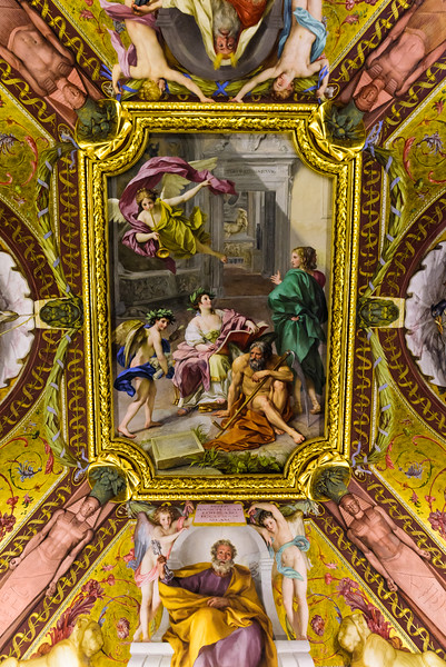 Vatican Museums - , ceiling detail