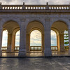 Monte Cassino - View through the Portico