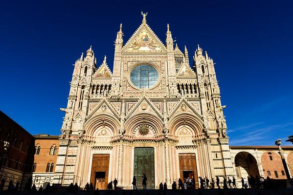 Duomo di Siena - the facade