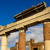 Columns and Clouds at Pompeii