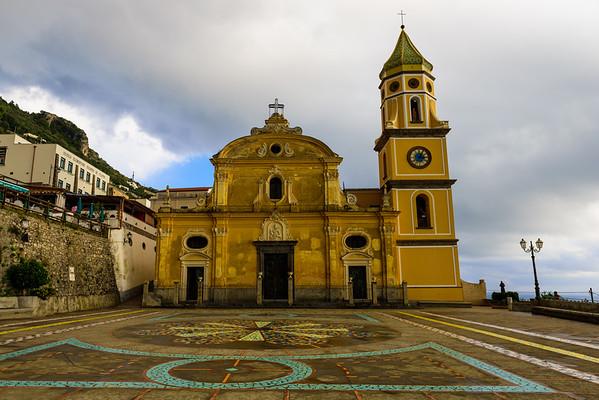 The Chiesa di San Luca Evangelista in Praiano