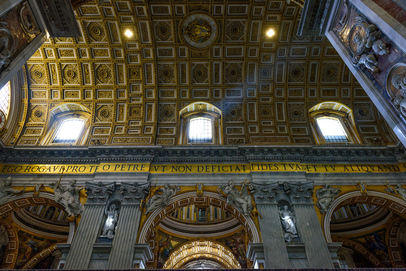 St. Peter's Basilica - Ceiling over the Nave