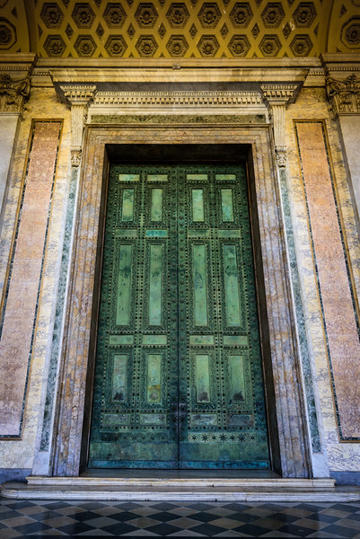 Basilica of St John Lateran - Main Door