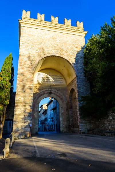 Assisi's Porta Nuova