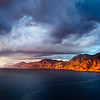 Stormy Sunset on Amalfi Coast